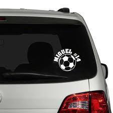 Soccer Car Decal