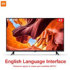 Chính Hãng Xiaomi Tivi 43 Inch E43A Không Viền Màn Hình Full HD TIVI 1GB +  8GB Chống tĩnh Ai Điều Khiển Giọng Nói Âm Thanh Dolby DTS TV thông minh