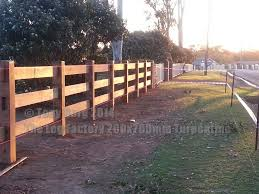 Post And Rail Hardwood Fencing The Log Factory