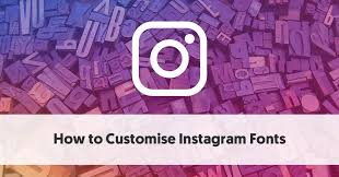 how to customise instagram fonts instagram fonts generator