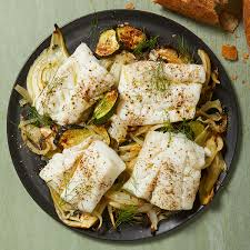 Roasted Fish with Zucchini, Fennel ...