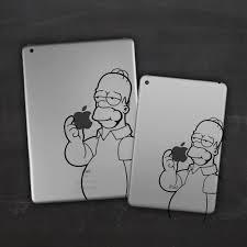 Homer Simpson Ipad Vinyl Decal Sticker Londondecal