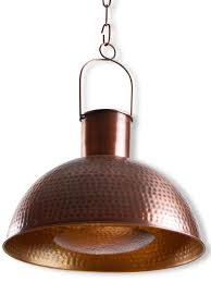 hand hammered copper chimney 15 inches