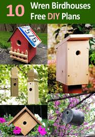 10 Free Wren Bird House Plans For Spring Diy Projects