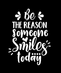 Amazon Com Zhehao Be The Reason Someone Smiles Today Quote Decal Quote Sticker Car Decal Car Sticker Vinyl Decal Vinyl Sticker Laptop Decal Laptop Sticker 4 5x6 Inches White Kitchen Dining