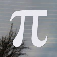 Pi Mathematical Symbol Vinyl Decal Free Us Shipping For Car Laptop Tablets Etc