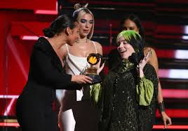 Family affair: Billie Eilish and brother Finneas win big at ...