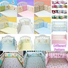 6 pcs set baby cot crib per pad full