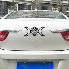 Triple Goddess Hecate Vinyl Car Decal Pagan Wiccan New Age Art Decor Removable Diy Laptop Sticker For Apple Macbook Decoration Wall Stickers Aliexpress