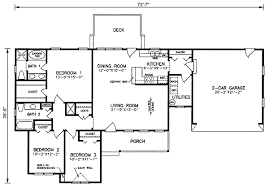 house plan 45210 traditional style