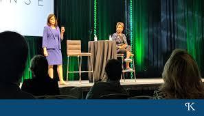 Jocelyn Clarke and Myra Davis Speak at CHIME 18 - Kirby Partners