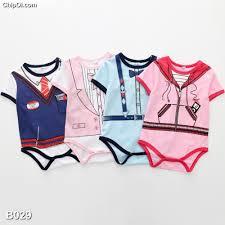 Đồ body áo liền quần giả cho trẻ sơ sinh (Sale đặt biệt giá gốc)