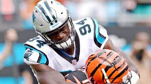 Efe Obada returns to London as an NFL star and key Carolina Panthers player    Sport   The Sunday Times