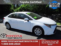 used 2020 toyota corolla le in north