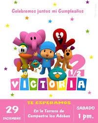 Invitacion Pocoyo Nina O Nino Digital 95 00 En Mercado Libre