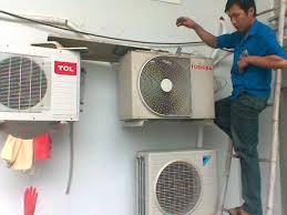 Sửa Máy Lạnh chạy nhưng mà không mát tại nhà