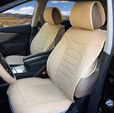 180303 beige 2 front car seat cover