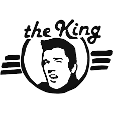 Rock Band S Elvis Presley Style 3 Decal