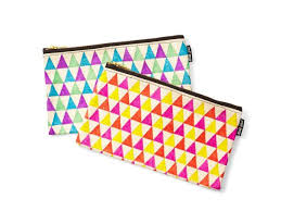 pattern to makeup bags with sharpies