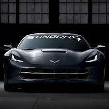 C7 Corvette Windshield Decal Kit Stingray Script White Walmart Com Walmart Com