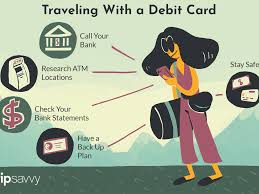 using your debit card overseas