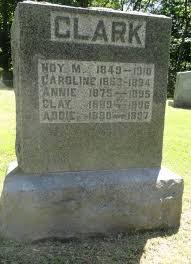 Addie Clark (1890-1897) - Find A Grave Memorial