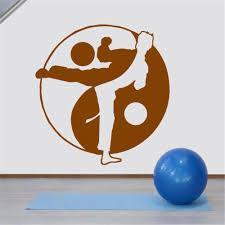 Boxing Club Mma Taekwondo Karate Sticker Kick Play Car Decal Free Combat Posters Vinyl Striker Wall Decals Decor Childrens Bedroom Wall Stickers Childrens Removable Wall Stickers From Onlinegame 12 48 Dhgate Com