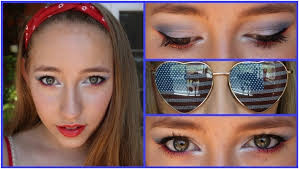 10 y 4th of july makeup tutorial ideas