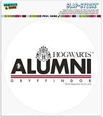 Amazon Com Graphics And More Harry Potter Gryffindor Alumni Automotive Car Window Locker Circle Bumper Sticker Automotive