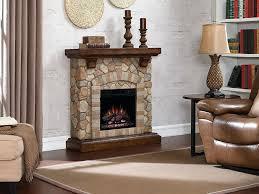 stone fireplace mantels electric mantel