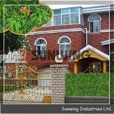 China Sunwing Garden Artificial Hedge Fake Fence China Fencing And Fence Price