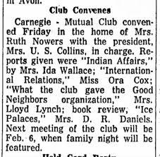 Galesburg Register-Mail 6 Jan 1959 Ida Paul Wallace - Newspapers.com