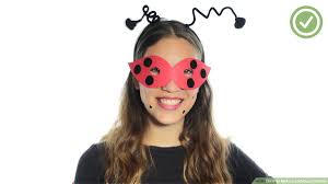 how to make a ladybug costume with
