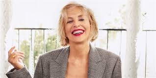 sharon stone talks beauty and aging on