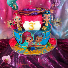 Shimmer And Shine Birthday Party Ideas Photo 7 Of 90 Catch My