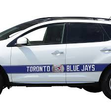 Toronto Blue Jays Team Ball Racing Stripe Car Decals