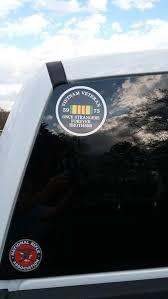 Vietnam Veteran Once Strangers Forever Brothers Life Member Vinyl Car Colorado Sticker
