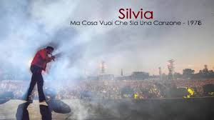 Vasco Rossi - Silvia (con testo) - YouTube