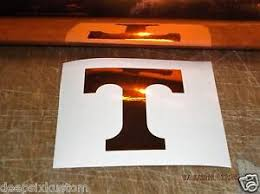 Tennessee Vols Power T Decal For Rambler Tumbler Car Window Approx 3 Tall Ebay