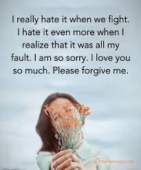 i m sorry messages for boyfriend r tic ways to apologize to