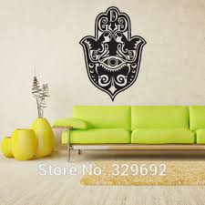 Wall Decal Vinyl Sticker Decals Hamsa Ganesh Om Hand Eye Indian Wall Stickers Home Decor Size 56x90cm Indian Home Decor Olivia Decor Decor For Your Home And Office