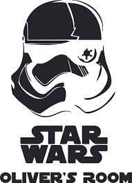 Storm Trooper Star Wars Design Customized Wall Art Vinyl Decal Custom Vinyl Wall Art Personalized Name Baby Girls Boys Kids Bedroom Decal Room Wall Art Stickers Decoration Size 10x8