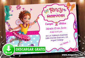 Invitaciones De Cumpleanos Fancy Nancy Clancy Mega Idea