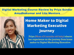 Digital Marketing Training Institute in Chennai | Digital Marketing Course  Review by Priya Sundar - YouTube