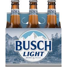 busch light beer 6 pack 12 fl oz