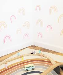 Diy Rainbow Wall Decals A Bubbly Life