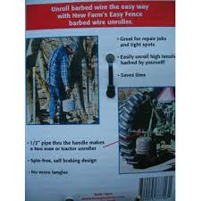 New Farm Products Two New Farm Ez Easy Fence Unroller Handler Unroll Barbed Wire 12 5 Gauge