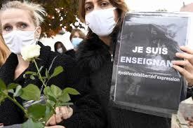Professore decapitato Parigi mostrato caricature di Maometto
