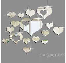 Acrylic Heart Shape Mirror Wall Sticker Hearts Diy 3d Stickers Removable Self Adhesive Wall Decal Home Living Room Decoration Vinyl Wall Clings Vinyl Wall Decal From Margueriter 19 85 Dhgate Com