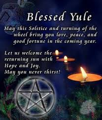 wiccan quotes yule lore st winter solstice